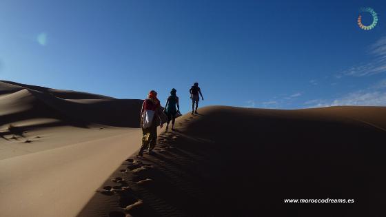 Retiro en el desierto del Sáhara